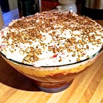 Burns Night Trifle