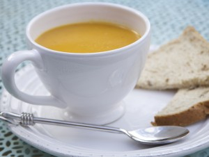 Lentil and butternut squash soup