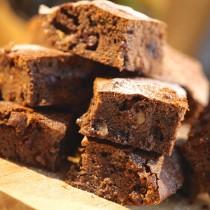 Nutella and Walnut Choc Chop Brownies
